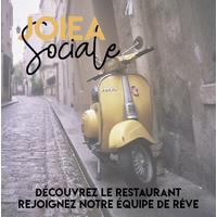 Joiea Sociale logo MaItre D  resto emploi restaurant