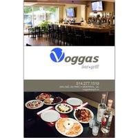 Voggas Bar Grill logo Cook & Chef  Waiter / Waitress resto emploi restaurant