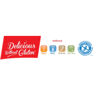 Delicious Without Gluten logo Divers resto emploi restaurant