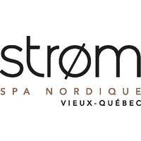 Strom Spa Nordique Vieux-Québec logo Cuisinier et Chef resto emploi restaurant