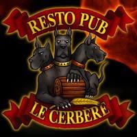 Resto Pub Le Cerbère logo Cuisinier et Chef resto emploi restaurant