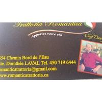 Trattoria Romantica logo Serveur / Serveuse Busboy resto emploi restaurant