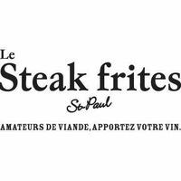 Le Steak frites St-Paul logo Cuisinier et Chef resto emploi restaurant