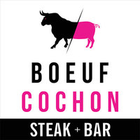 Restaurant Boeuf Cochon Steak Bar logo