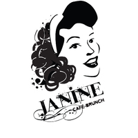 Janine Café Brunch logo Hôte / Hôtesse  resto emploi restaurant
