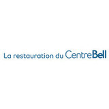 La restauration du Centre Bell logo