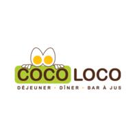 Déjeuner Coco Loco logo Hôte / Hôtesse  Busboy resto emploi restaurant