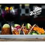 3 Amigos  logo Cuisinier et Chef resto emploi restaurant