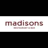 Madisons  logo Cuisinier et Chef Plongeur Hôte / Hôtesse  Busboy resto emploi restaurant