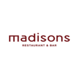 Madisons  logo Cook & Chef  Dishwasher Host / Hostess Busboy resto emploi restaurant