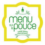 Menu sur le pouce logo Commis générales de cuisine Traiteur resto emploi restaurant