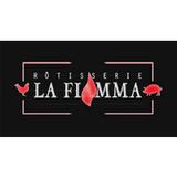Rôtisserie La Fiamma logo Cuisinier et Chef resto emploi restaurant