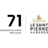 Hotel 71/Le Saint-Pierre, auberge distinctive logo Divers resto emploi restaurant
