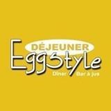 Restaurant Egg style logo Cuisinier et Chef resto emploi restaurant