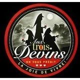 Aux Trois Devins logo
