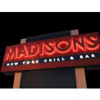 Madisons N.Y. Grill & Bar logo Cook & Chef  resto emploi restaurant