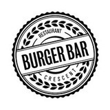 BURGER BAR CRESCENT logo