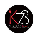 Kitchen73 Laval logo Service Counter / Kitchen Staff Dishwasher resto emploi restaurant