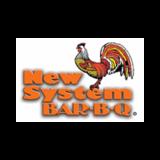 Restaurant Nouveau Système / New System Bar B Q logo Cuisinier et Chef Serveur / Serveuse Livreur  resto emploi restaurant