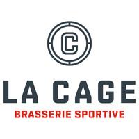 La Cage Brasserie sportive Centre Bell logo Busboy resto emploi restaurant