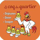 Le coq du quartier logo Waiter / Waitress resto emploi restaurant