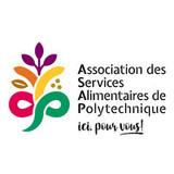 Association des services alimentaires de Polytechnique logo Divers resto emploi restaurant