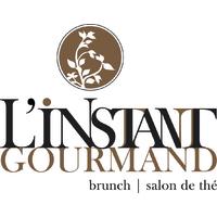 L'instant gourmand logo resto emploi restaurant