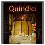 restaurant Quindici 15 logo Waiter / Waitress resto emploi restaurant