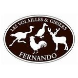 LES VOLAILLES ET GIBIERS FERNANDO logo Traiteur Cuisinier et Chef resto emploi restaurant