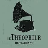 Le Théophile  logo Cuisinier et Chef resto emploi restaurant