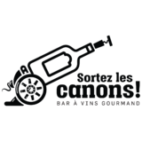Restaurant Sortez les canons logo Cuisinier et Chef resto emploi restaurant