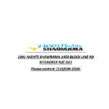 1001 Nights Shawarma logo Cook & Chef  resto emploi restaurant