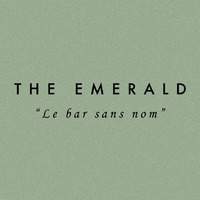 "The Emerald  ""le bar sans nom"" logo Barman / Barmaid Hôte / Hôtesse  Gérant / Superviseur Serveur / Serveuse Busboy resto emploi restaurant"