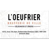 Restaurant L'Oeufrier DDO logo Cook & Chef  resto emploi restaurant