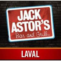 Jack Astor's Laval logo Cuisinier et Chef Plongeur resto emploi restaurant