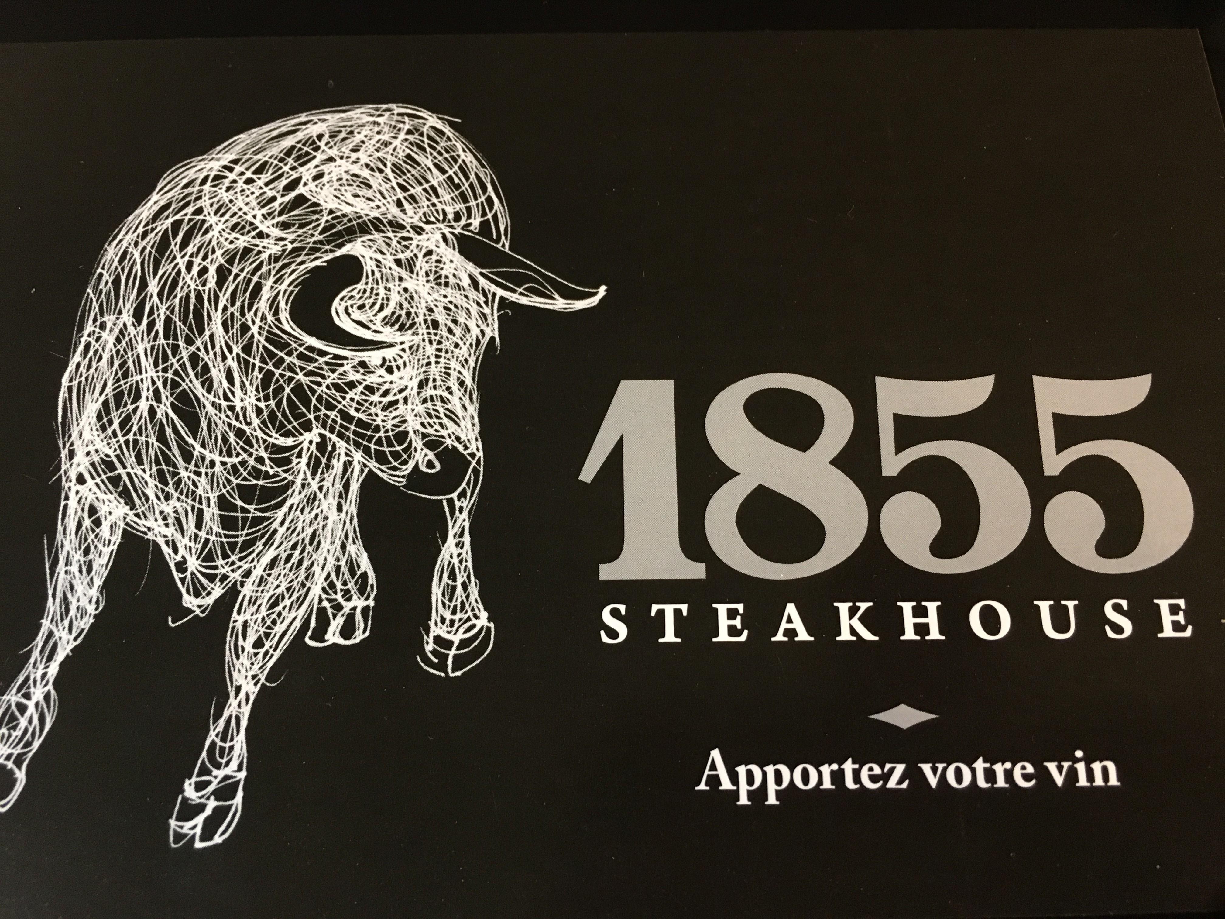 Le 1855 steakhouse logo