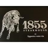 Le 1855 steakhouse logo Cuisinier et Chef Serveur / Serveuse resto emploi restaurant